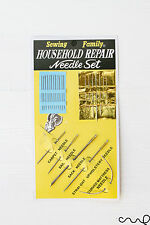Sewing Kit Family Household Repair 25x Needle Set Craft Upholstery Sack Sail VAT