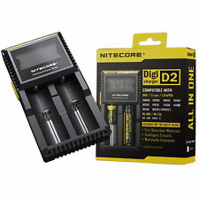 Nitecore D2 Intelligent Battery Charger for 16430 22650 18650 17670 AAA EU Plug