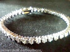 ROUND WOMENS LCS DIAMOND TENNIS LINE BRACELET SZ 7 SEE ALL BRACELETS IN STORE!