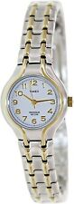 Timex Women's Elevated Classics T27191 White Stainless-Steel Quartz Watch