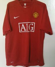 Manchester United 2007-2009 Official Nike Soccer Shirt (Adult XL)
