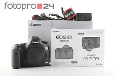 Canon EOS 5d Mark III Body + OVP + 78 TSD. inneschi + Top (214648)