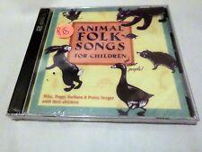 Mike Seeger - Animal Folk Songs for Children (1992) Brand New Sealed Mint
