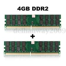 8GB 2x4gb DDR2 800MHZ PC2-6400 240PIN DESKTOP PC DIMM MEMORY RAM AMD MOTHERBOARD