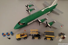 Lego City 7734 Cargo Plane Complete No Stickers RARE RETIRED Free Shipping!