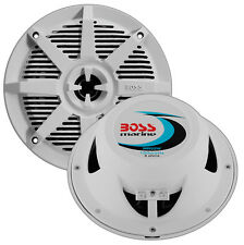 "Boss Audio MR52W Boss 5.25"" 2-way Coaxial Marine Speaker 150w White"