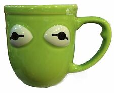 Disney Parks The Muppets Kermit The Frog Ceramic Coffee Mug Cup New