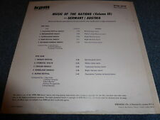Various - Music Of The Nations, Volume 3 - Germany / Austria ,, EX/E,LP -KPM 103
