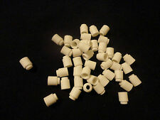 HIGH PURITY ALUMINA CERAMIC SHOULDER STAND-OFFS SPACER BEADS FISH SPINE No.: 52