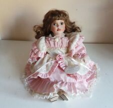 Collectible Leonardo Collection Nicole Doll Porcelain Soft Body Doll Home Decor