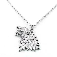Pendentif Collier Game Of Thrones Stark Direwolf Song of ice