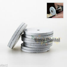 50pcs Dental Polishing Wheels Burs Silicone Polishers for Porcelain Resin Teeth
