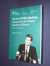 Teaching Co Great Courses  DVDs       ART OF PUBLIC SPEAKING       new & sealed