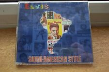 ELVIS PRESLEY SOUTH-AMERICAN STYLE BOOK & PROMO CD NUMBERED & SIGNED BY AUTHOR