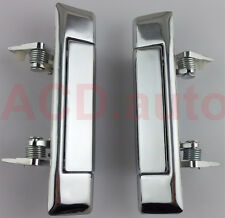 Fit For 1980-1981 Toyota Corolla Ke70 Door Handle Left Right Chrome 2pcs NEW