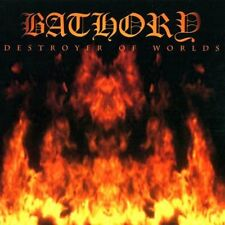 BATHORY - DESTROYER OF WORLDS (BLACK MARK MADE IN SWEDEN!) *** CD ORIG.SIGILLATO