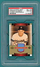2003 UD Sweet Spot Harmon Killebrew Game Used #SJ -HK PSA 10! Twins! POP 1!