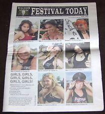 Festival Today - Wacken Open Air Newspaper -  2. Ausgabe 2011