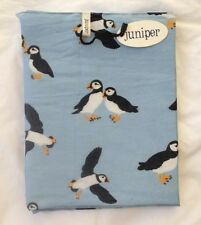 NEW 100% COTTON WOMEN'S  PUFFIN PRINT SCARF