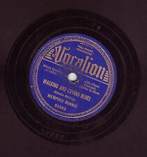 """Memphis Minnie """"Walking and crying blues"""" Vocalion Records Blues 78 RPM 03966"""