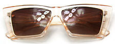 Cat Eye Women Sunglasses Fashion Geometric Light Pink Vintage Style