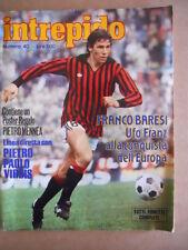 INTREPIDO n°40 1979 Franco Baresi - con poster PIETRO MENNEA   [G360]