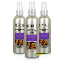 3x Revuele Smoothing Curly Unruly Hair Serum Rice Protein Flax Oil Keratin 200ml