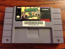 Zombies Ate My Neighbors  (Nintendo SNES, 1993) - Game Cartridge Only