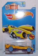 "2016 Hot Wheels Treasure Hunt (yellow & purple) ""4WARD SPEED""  C2"