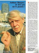 Coupure de presse Clipping 1989 (1 page) Anthony Burgess