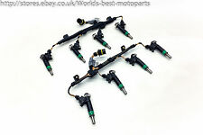 BMW E65 E66 740i FL (1) 7 SERIES Injectors With Wiring No Fuel Rail