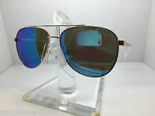 NEW  AUTHENTIC MICHAEL KORS SUNGLASSES MK 5007 104525 ROSE GOLD WHITE/BLUE MIRR