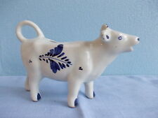 Nice vintage Delfts Blue creamer cow formed - melkkoetje - milk pot