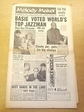 MELODY MAKER 1957 OCTOBER 12 COUNT BASIE RUSS HAMILTON JAZZ BIG BAND SWING
