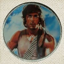 Rambo Patch Picture Embroidered Border First Blood John Sylvester Stallone