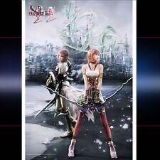 Final fantasy xiii - 2 wall scroll: serah & lightning