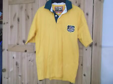 AUSTRALIA RUGBY UNION SHIRT SMALL SIZE COTTON TRADERS CLASSICS MAKE