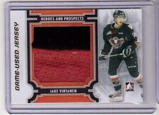 JAKE VIRTANEN 13/14 ITG Rookie GOLD 2-color Jersey /10 SP M-08 Vancouver Canucks