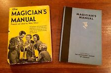 Magician's Manual w DJ, Complete With Parts, Antique
