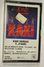 Kaki Vargas Y E'Kaki(Audio Cassette Sealed)