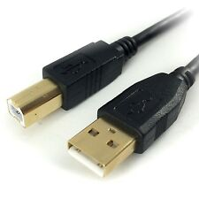 3m Usb 2.0 Impresora Escaner Lead Cable Cable Para Hp Color Laserjet 4m Plus