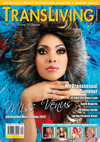 TRANSLIVING ISSUE 40 TRANSVESTITE CROSS DRESSER TRANSGENDER LIFESTYLE MAGAZINE