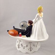 Funny Wedding Cake Topper Football Themed Dallas Cowboys Humrous And Unique