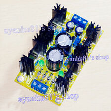 Class A Parallel Adjustable Regulated Power Supply Regulator Finished Board