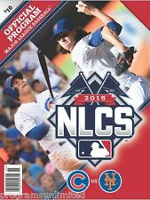 2015 NEW YORK METS NATIONAL LEAGUE CHAMPIONSHIP GAME PROGRAM WORLD SERIES NLCS