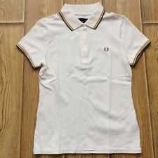 Fred Perry Ladies Twin Tip Polo