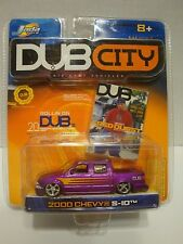 Jada Dub City 2000 Chevy S-10 Pick-up Truck Rollin On 1:64 Diecast C17-32