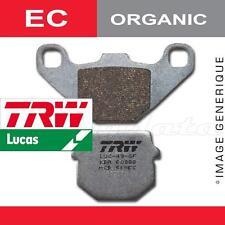 Plaquettes de frein Arrière TRW Lucas MCB539EC Gilera RC 125 Top Rally 90-