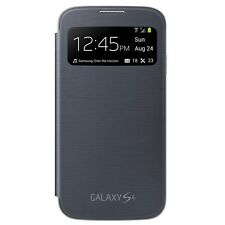 Genuine EF-CI950BBESTA Samsung Galaxy S 4 S-View Flip-Cover Case - Black