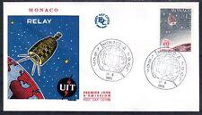 MONACO FDC 1965 - CENTENAIRE DE L'UIT 666 - pn10